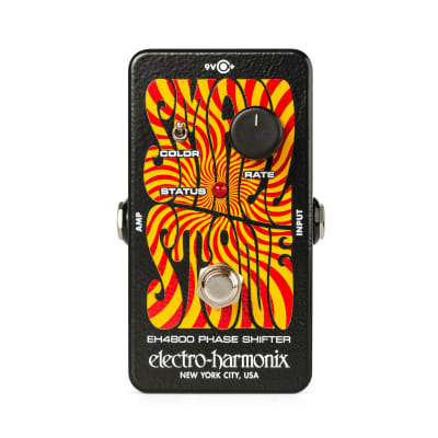 New Electro-Harmonix EHX Small Stone Analog Phase Shifter Effects Pedal!