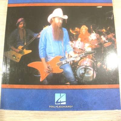 ZZ Top Guitar Anthology Sheet Music Song Book Guitar Tab Tablature Hal Leonard