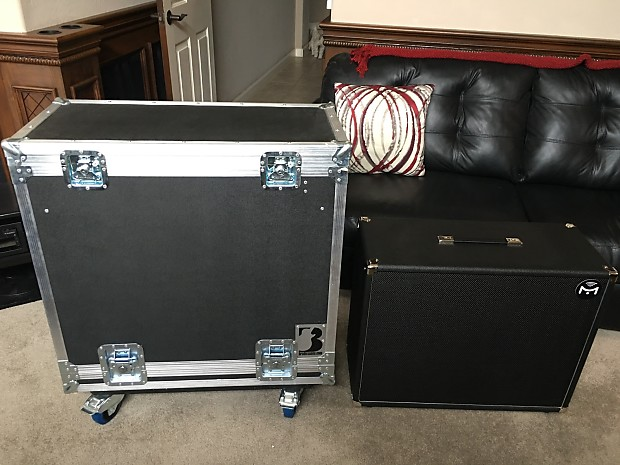 Mission Engineering Gemini Powered 2x12 FRFR Stereo Cabinet w/Bluetooth &  Custom Brady Case