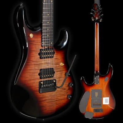 Ernie Ball Music Man John Petrucci 20th Anniversary JP6, Honey Butter Burst 737 8lbs 7.9oz for sale