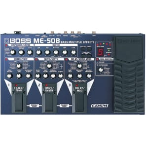 Boss ME50B Bass Multiple Effects with COSM for sale