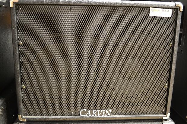 Carvin BR210 Black 2x10 bass cab w/ horn | Reverb