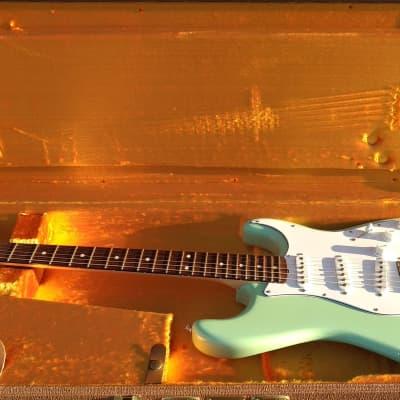 2010 Fender Custom Shop 1960 NOS Stratocaster - Surf Green / Rosewood for sale