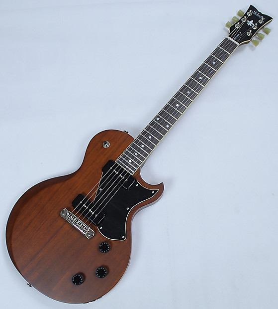 schecter solo ii special electric guitar in walnut pearl reverb. Black Bedroom Furniture Sets. Home Design Ideas