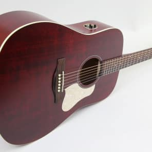 Store Demo | Art & Lutherie Americana Dreadnought Acoustic Electric Guitar | Tennessee Red for sale