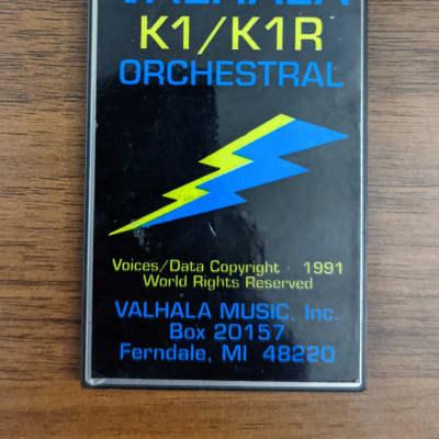 Valhala Orchestral Card for Kawai K1/K1r/K1m