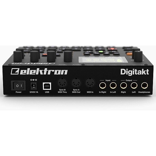 elektron digitakt 8 voice digital drum machine midi usb reverb. Black Bedroom Furniture Sets. Home Design Ideas