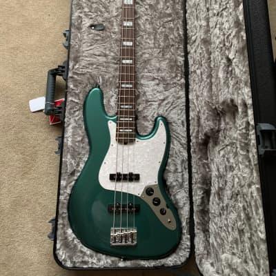 Fender Adam Clayton Artist Series Signature Jazz Bass Sherwood Green Matching Headstock 2019 for sale