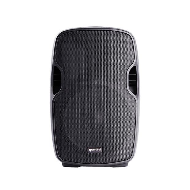 gemini as 08p 8 powered abs molded loudspeaker reverb. Black Bedroom Furniture Sets. Home Design Ideas