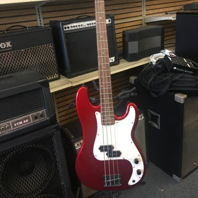 JB Player Sledgehammer  Red 4 String Bass for sale