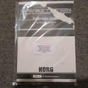Used Korg Wavestation Reference Guide/Owner's Manual