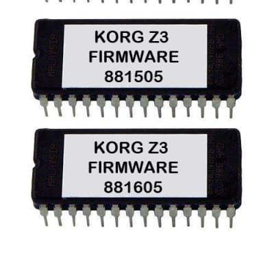 KORG Z3 FIRMWARE OS EPROM GUITAR SYNTHESIZER Z-3