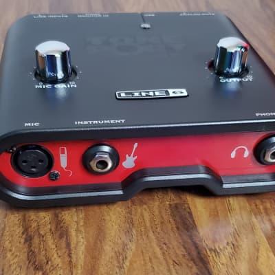 Line 6 Toneport UX1 2002 Red/Black