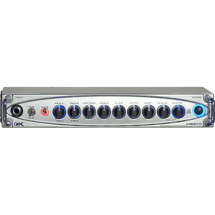 Gallien-Krueger MB800 800 Watt Ultralight Bass Head