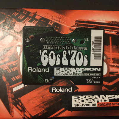 Roland SR-JV80-08 Keyboards Of The '60s & '70s Expansion Board