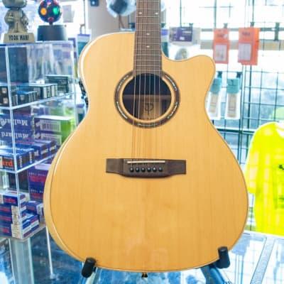 Teton STG180CENT-AR Grand Concert Acoustic Electric Guitar for sale