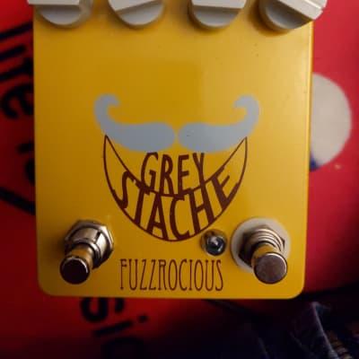 Fuzzrocious Grey Stache Fuzz W/ Momentary Oscillation Mod