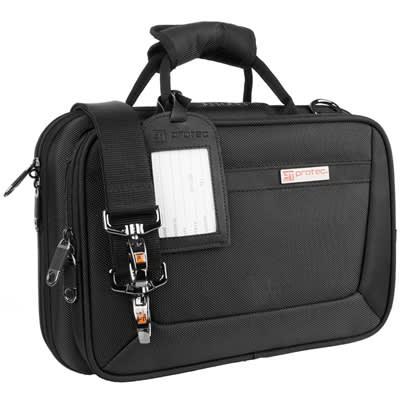 Protec PB307 Black Slimline Clarinet case.