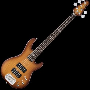 G&L Tribute L-2500 Bass Guitar in Tobacco Sunburst Finish for sale
