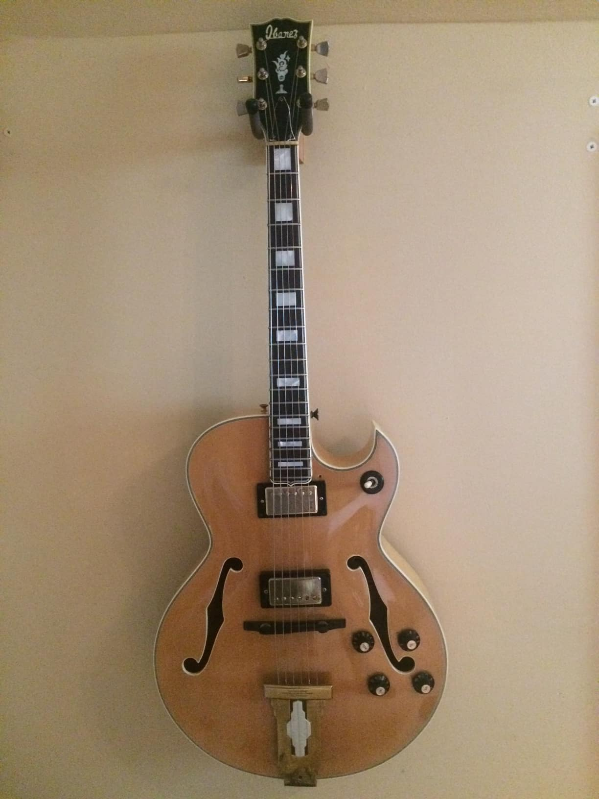 Ibanez 2455 Archtop Jazz Guitar Mid 1970s Reverb