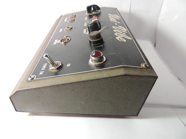 vintage shin ei uni vibe chorus vibrato effects pedal w speed reverb. Black Bedroom Furniture Sets. Home Design Ideas