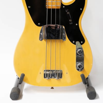 1968 Fender Telecaster Bass Guitar with Original Case - Blonde for sale