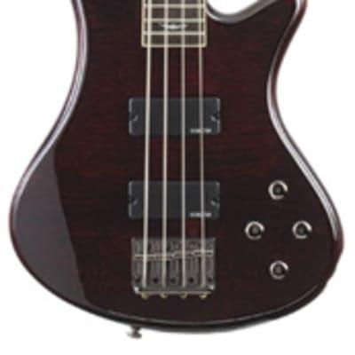 Schecter Stiletto Extreme 4 Electric Bass Guitar See Thru Black