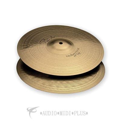 """Paiste 14"""" Signature Medium Hi-Hat Cymbals (Pair) Traditional"""