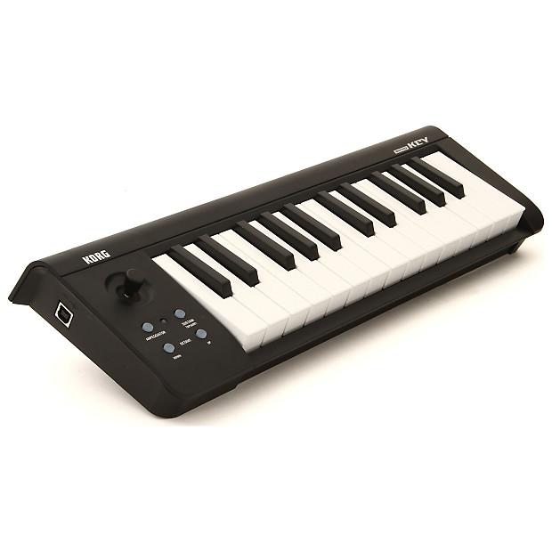 korg microkey2 compact midi usb keyboard black 25 key reverb. Black Bedroom Furniture Sets. Home Design Ideas