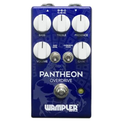 Wampler Pantheon - Overdrive Guitar Effects Pedal - Made in USA  Immaculate Condition!
