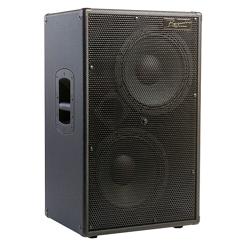 Bergantino CN212 Lightweight NEO Bass Guitar Speaker Cab incl. Cab and Berg Cover - Free Shipping