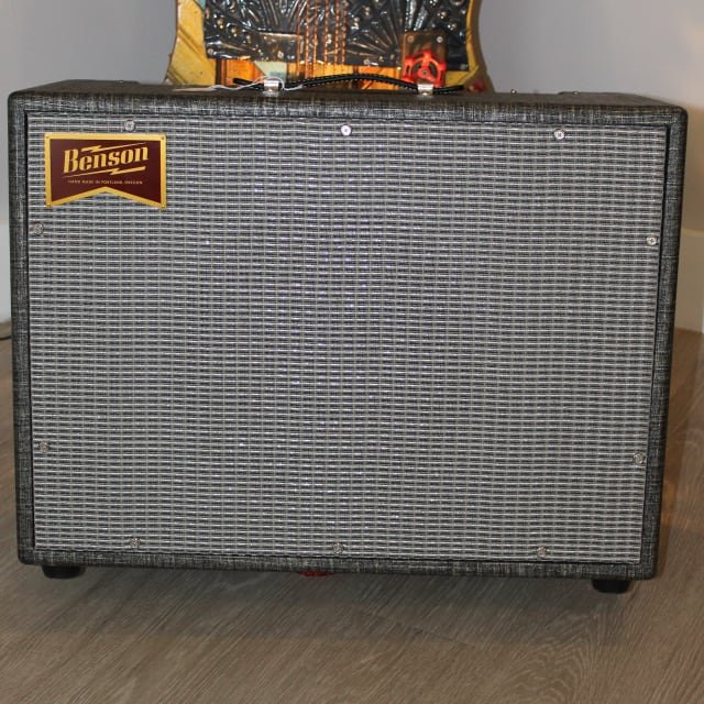 Benson Amps MONARCH REVERB 2018 Night Moves GREY image