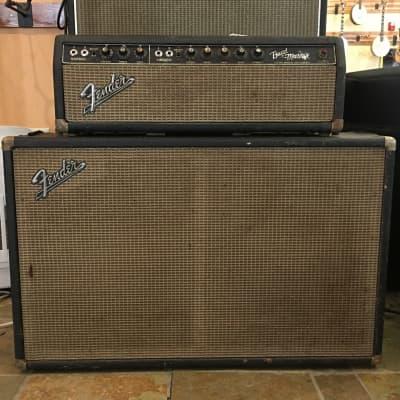 Fender BandMaster Head + Cab 1967 Blackface