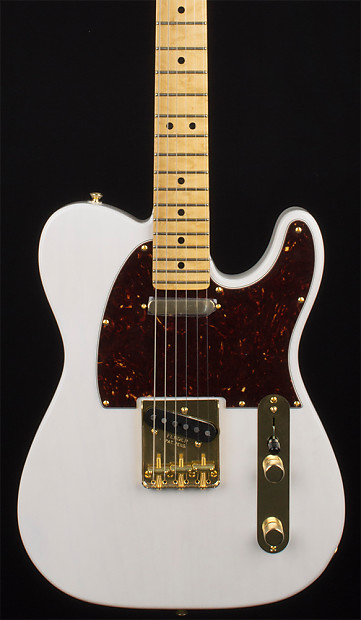 fender limited edition select light ash telecaster white reverb. Black Bedroom Furniture Sets. Home Design Ideas