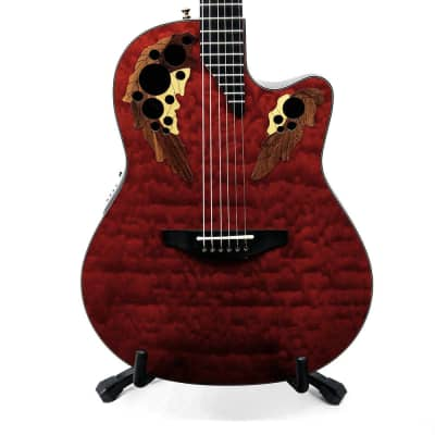 Ovation Limited Edition 2002 Collectors Series Acoustic/Electric Guitar w/ Case - #198 - Used