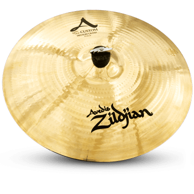 "Zildjian A20827 A Custom 17"" Medium Crash Cymbal"
