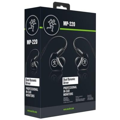 Mackie MP-220 Dual Dynamic Driver Professional In-Ear Monitors