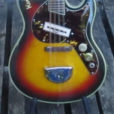 Kent 744 electric mandolin