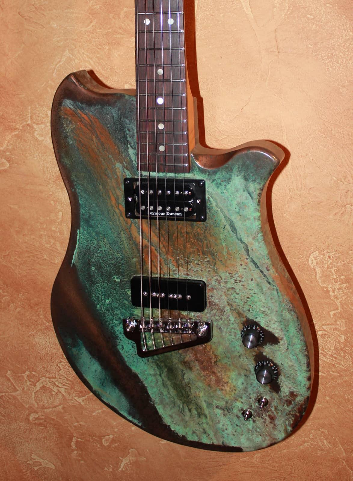 jam guitars usa roadster custom guitar 2016 bronze metal reverb. Black Bedroom Furniture Sets. Home Design Ideas