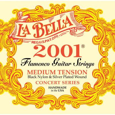 La Bella 2001 Flamenco Medium Tension Classical Guitar Strings