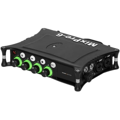 Sound Devices MixPre-6 II - Lightweight, high-resolution audio recorder with integrated USB audio streaming