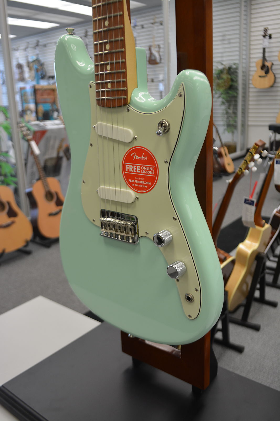 Fender Duo-Sonic Electric Guitar - Surf Green