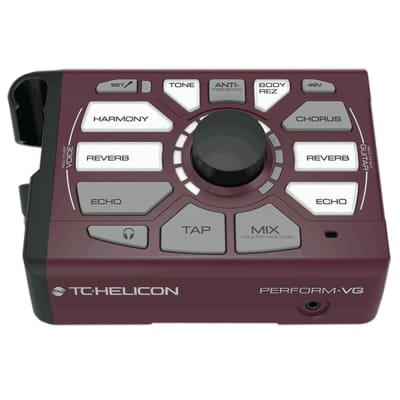 TC Helicon Perform‑VG Vocal Acoustic Guitar USB Harmony Generator Processor image