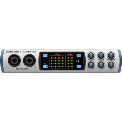 PreSonus Studio 68 6x6 USB Audio Interface