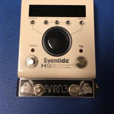 Eventide H9 Max with OX9 Switch & Telsa Tap Tempo/Aux  Switch