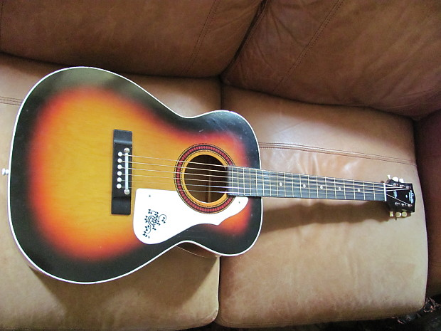 vintage harmony stella acoustic guitar video reverb. Black Bedroom Furniture Sets. Home Design Ideas