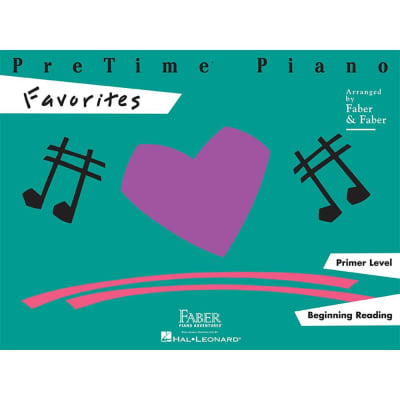 PreTime Piano: Favorites - Primer Level: Beginning Reading (Faber Piano)