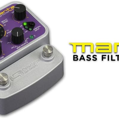 Source Audio Soundblox 2 Manta Bass Filter Electric Bass Guitar Effect Pedal for sale