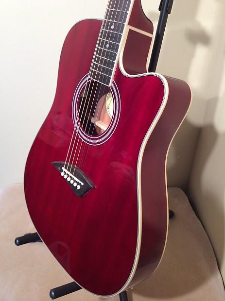 kona k2trd acoustic electric thin body guitar 12 choice reverb. Black Bedroom Furniture Sets. Home Design Ideas