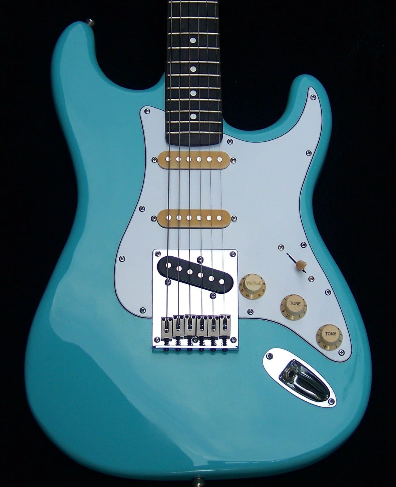 Haywire Modified/Fender Daphne Blue Strat+Tele+Warmoth | Reverb